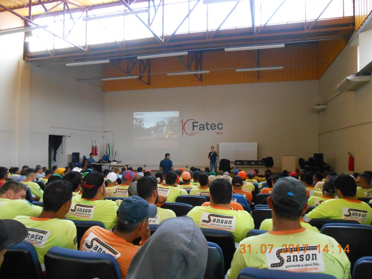 Simpósio de Qualidade e Segurança do Trabalho - Evento Grupo Sanson
